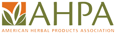 American Herbal Products Association (AHPA) logo