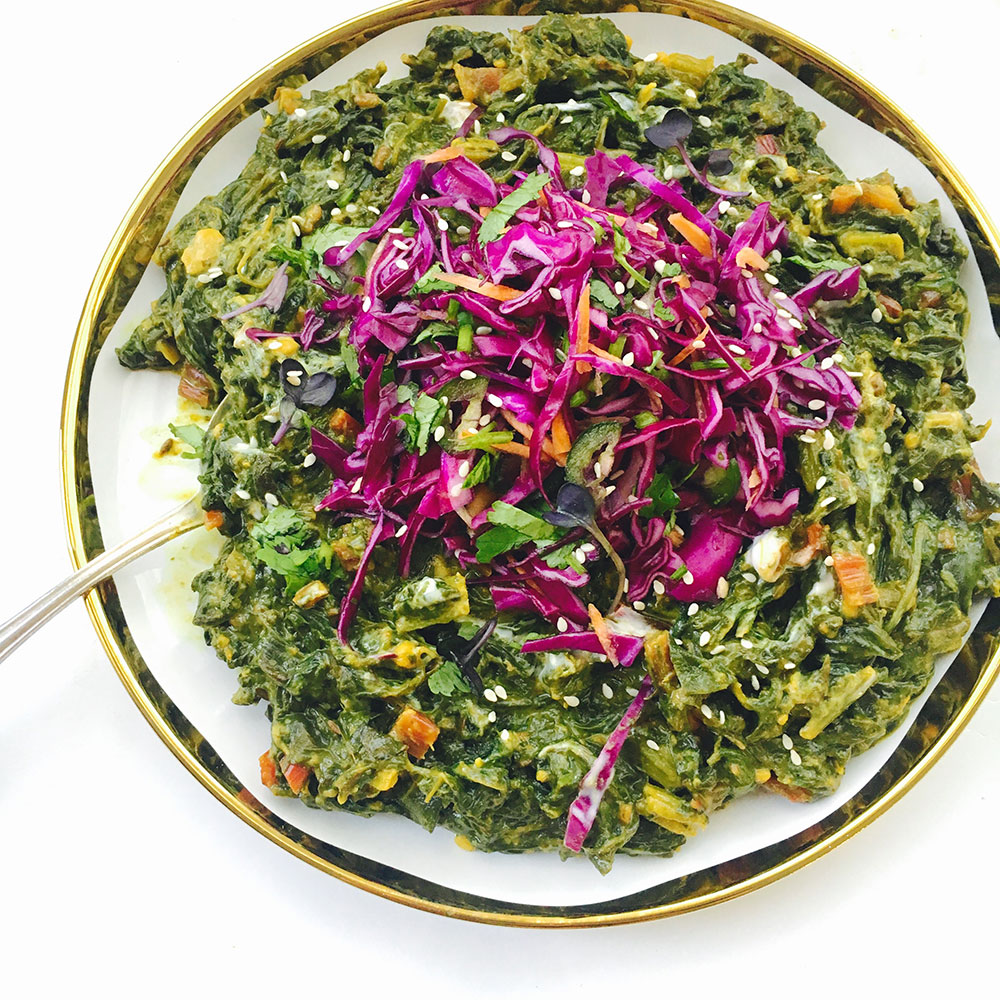 Kapha Balancing Greens with Fenugreek