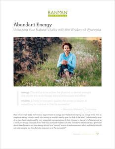 The Abundant Energy PDF
