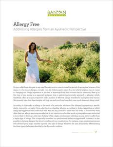 Allergy Free PDF