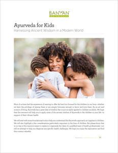 Ayurveda for Kids PDF
