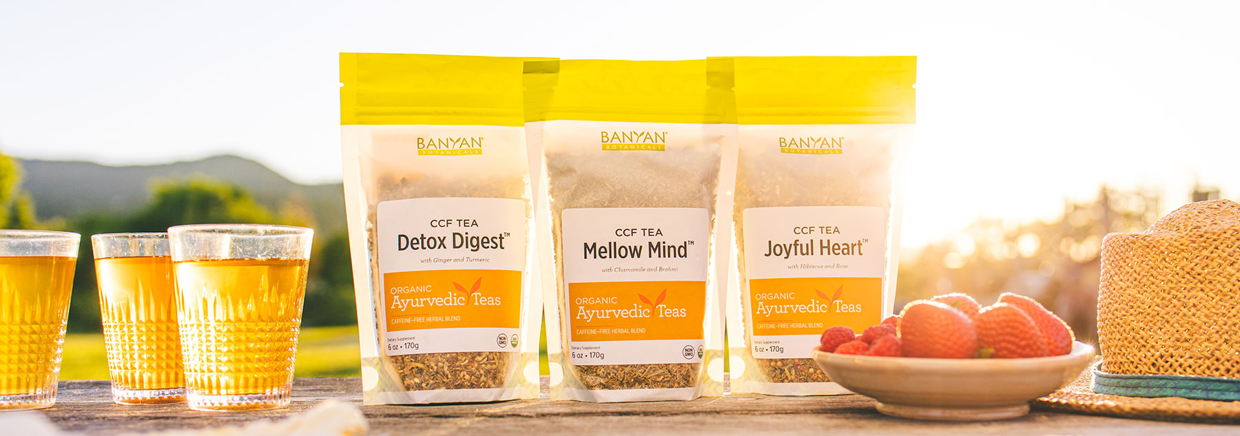 3 New CCF Tea Blends for Your Wellness Ritual