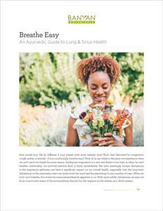An Ayurvedic Guide to Lung & Sinus Health PDF