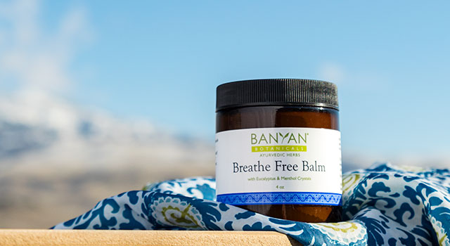 Breathe Free Balm—A Warming Herbal Chest Rub