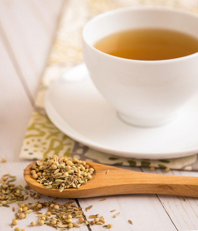 CCF Tea as carrier substance