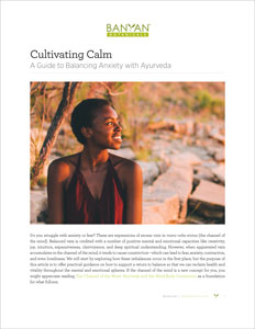 The Cultivating Calm PDF