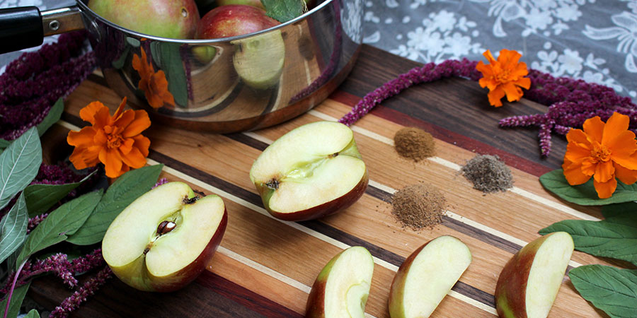 stewed apple ingredients