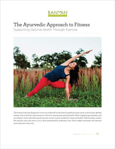 The Ayurvedic Approach to Fitness PDF