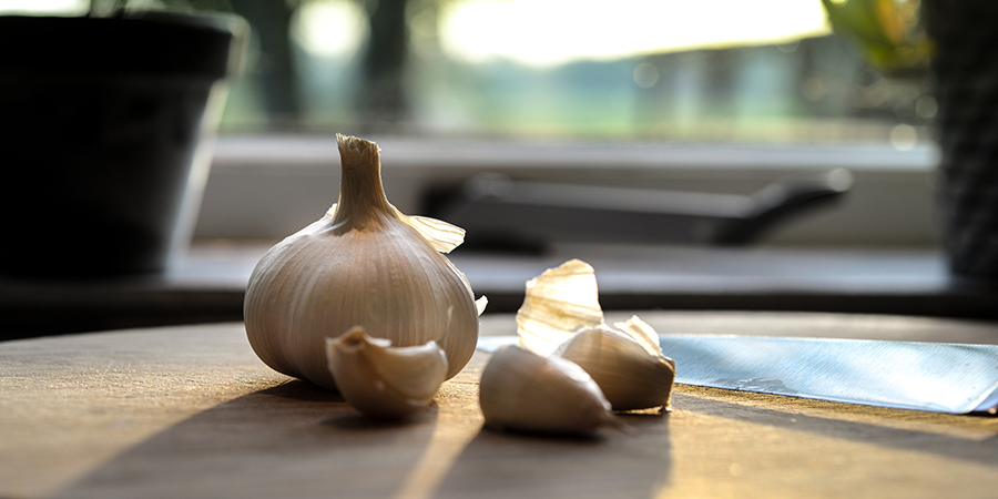 Garlic is a great immune booster.