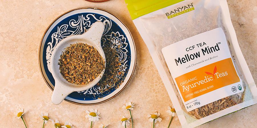 Mellow Mind Ayurvedic tea