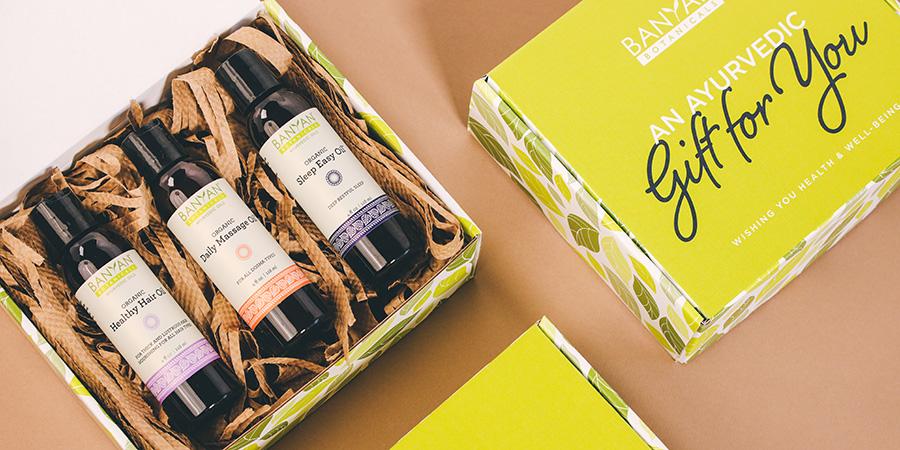 Ayurvedic Oils gift set