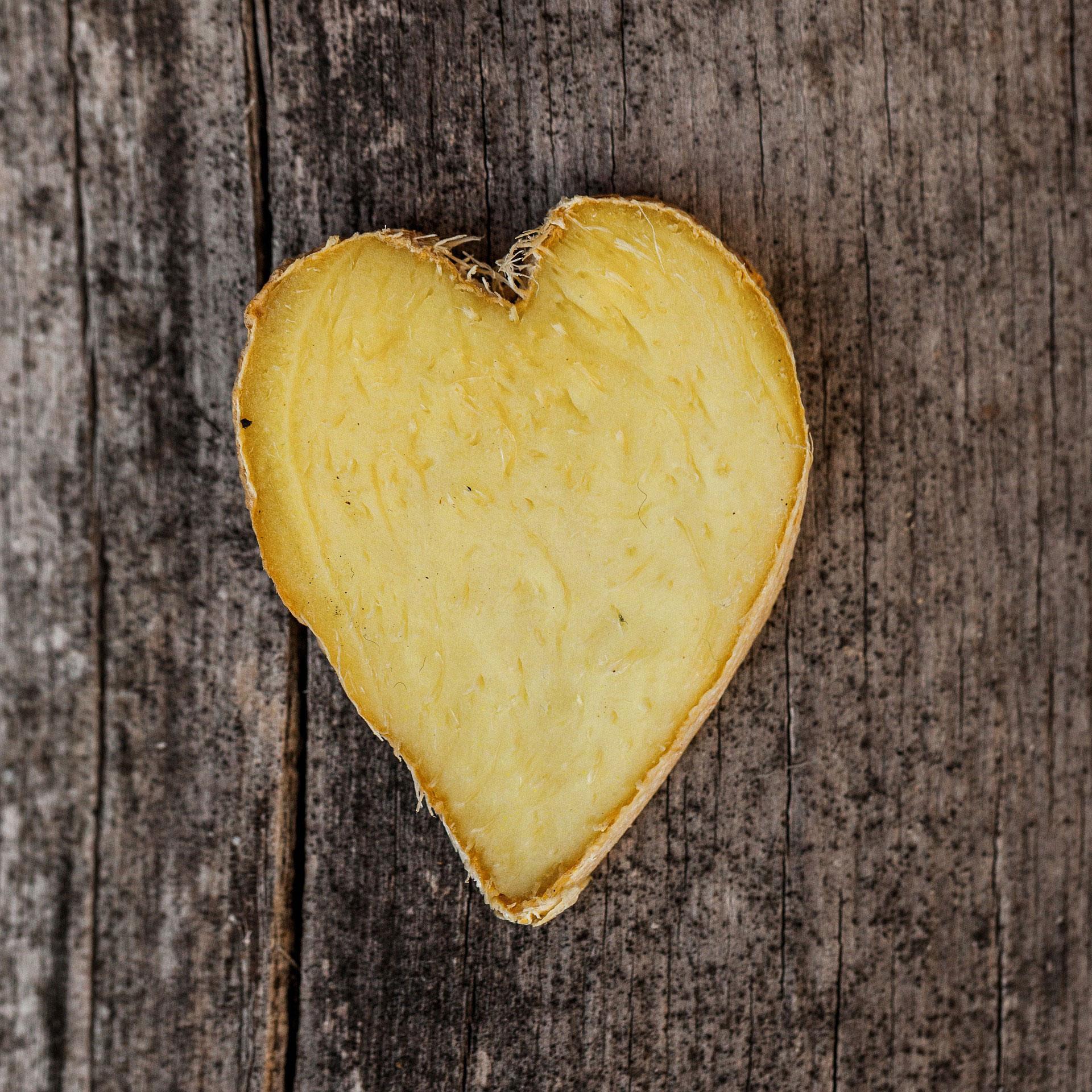 ginger heart slice