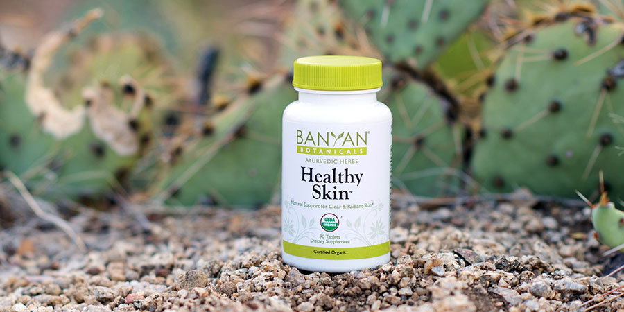 Banyan Botanicals Healthy Skin Tablets