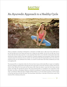 The Ayurvedic Approach to a Healthy Cycle PDF