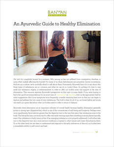 An Ayurvedic Guide to Healthy Elimination PDF