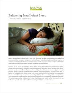 Balancing Insufficient Sleep PDF