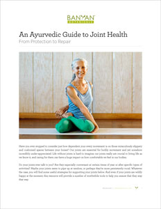 The Ayurvedic Guide to Joint Health PDF