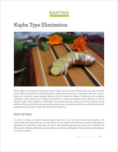 Kapha-Type Elimination PDF