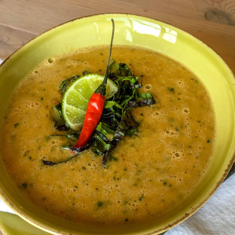 Kapha Red Lentil Lemongrass Soup Banyan Botanicals