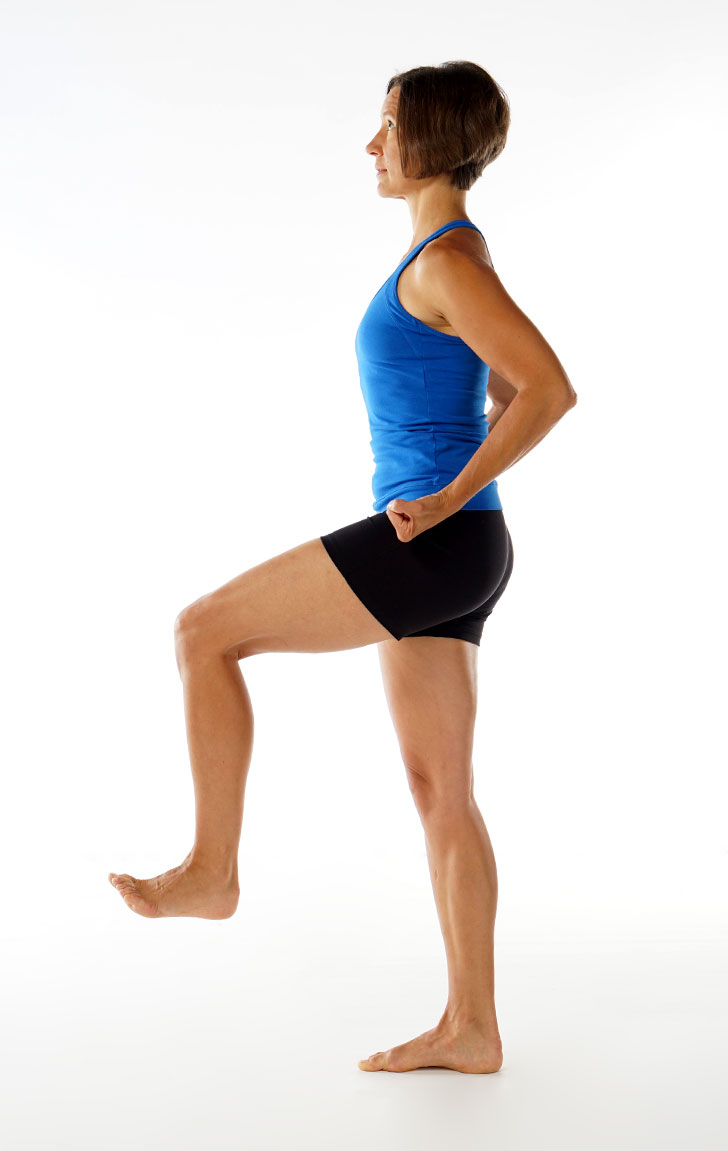 Standing Extended Leg Pose