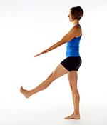 Standing Extended Leg