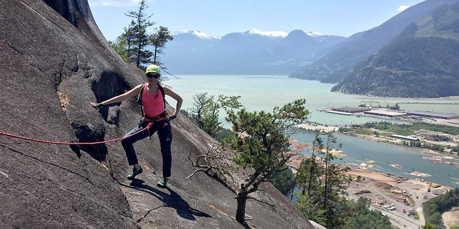 Melanie Phillips, climbing