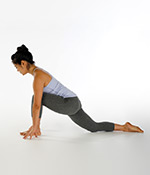 Lunge with Left Leg