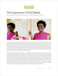 The Importance of Oral Health PDF