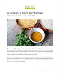 Simplified Three-Day Cleanse PDF