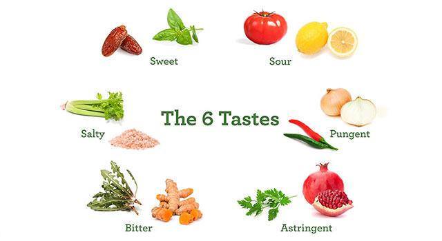 Six Tastes