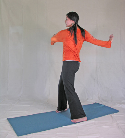 Standing Spinal Twist 2