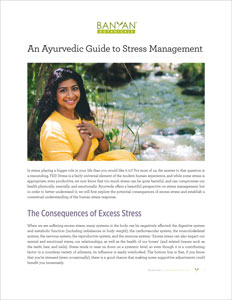The Ayurvedic Guide to Stress Management PDF