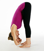 Standing Forward Bend Variation