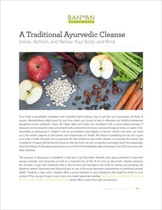 A Traditional Ayurvedic Cleanse PDF