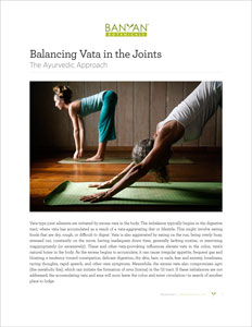 Balancing Vata in the Joints PDF