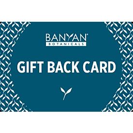 Banyan Botanicals Gift Back Card