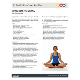 Elements of Ayurveda—Kapalabhati Pranayama
