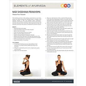 Elements of Ayurveda—Nadi Shodhana Pranayama