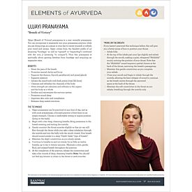 Elements of Ayurveda—Ujjayi Pranayama