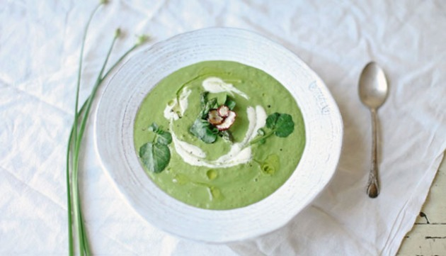 Seasonal Recipe: Sattvic Green Soup for Spring