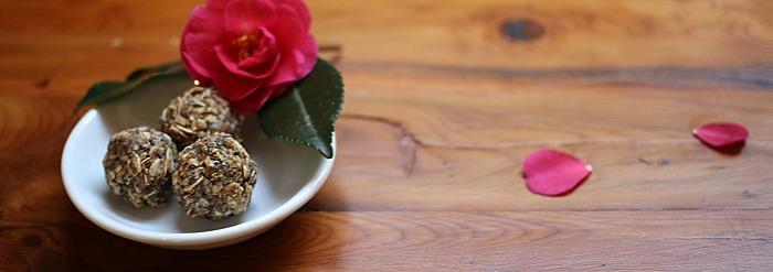Rose Energy Bites