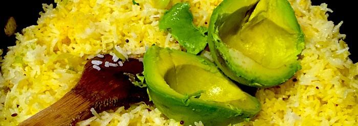 10 Minute Meal—Avocado Fried Rice Recipe