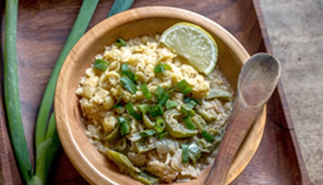 Caribbean Coconut Rice and Pigeon Peas