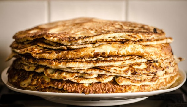 Golden Chickpea Crepes