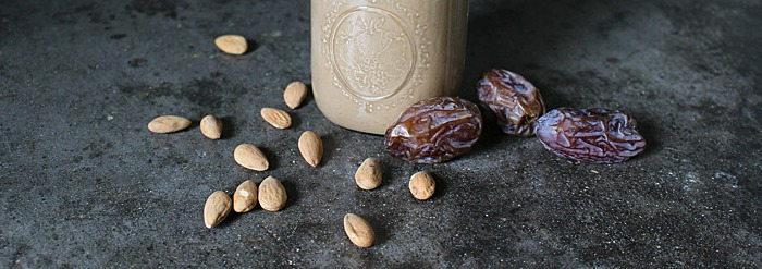 Dr. Vasant Lad's Date & Almond Shake