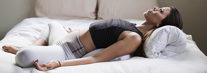 10 Gentle Yoga Stretches You Can Do In Bed Banyan Botanicals