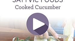 Summer Sattvic Foods—Cooked Cucumber