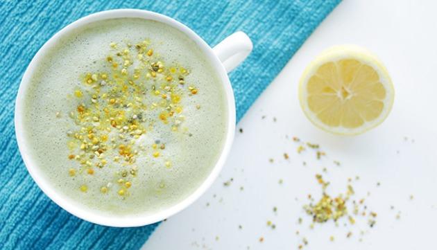 Lemon Moringa Latte Recipe: A Caffeine-Free Energy Boost