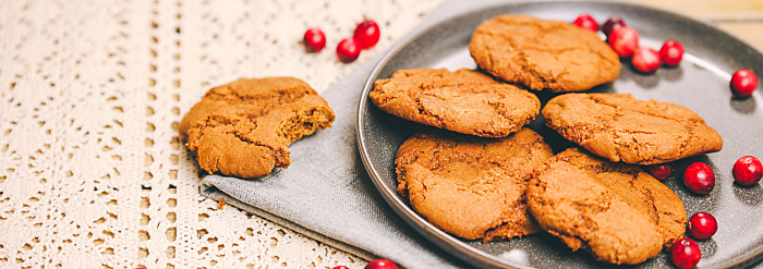 Seasonal Recipe: Spice it Up with Pippali Gingersnaps