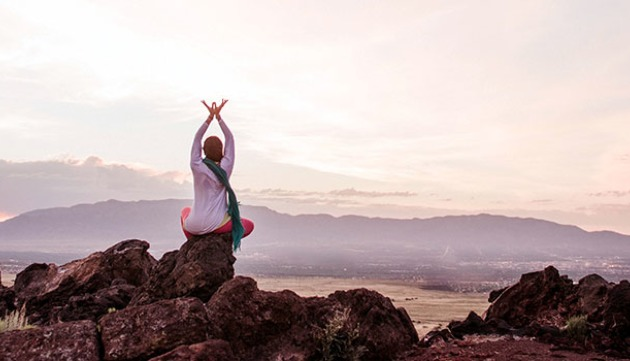 Sacred Yoga to Draw Your Energy Inward